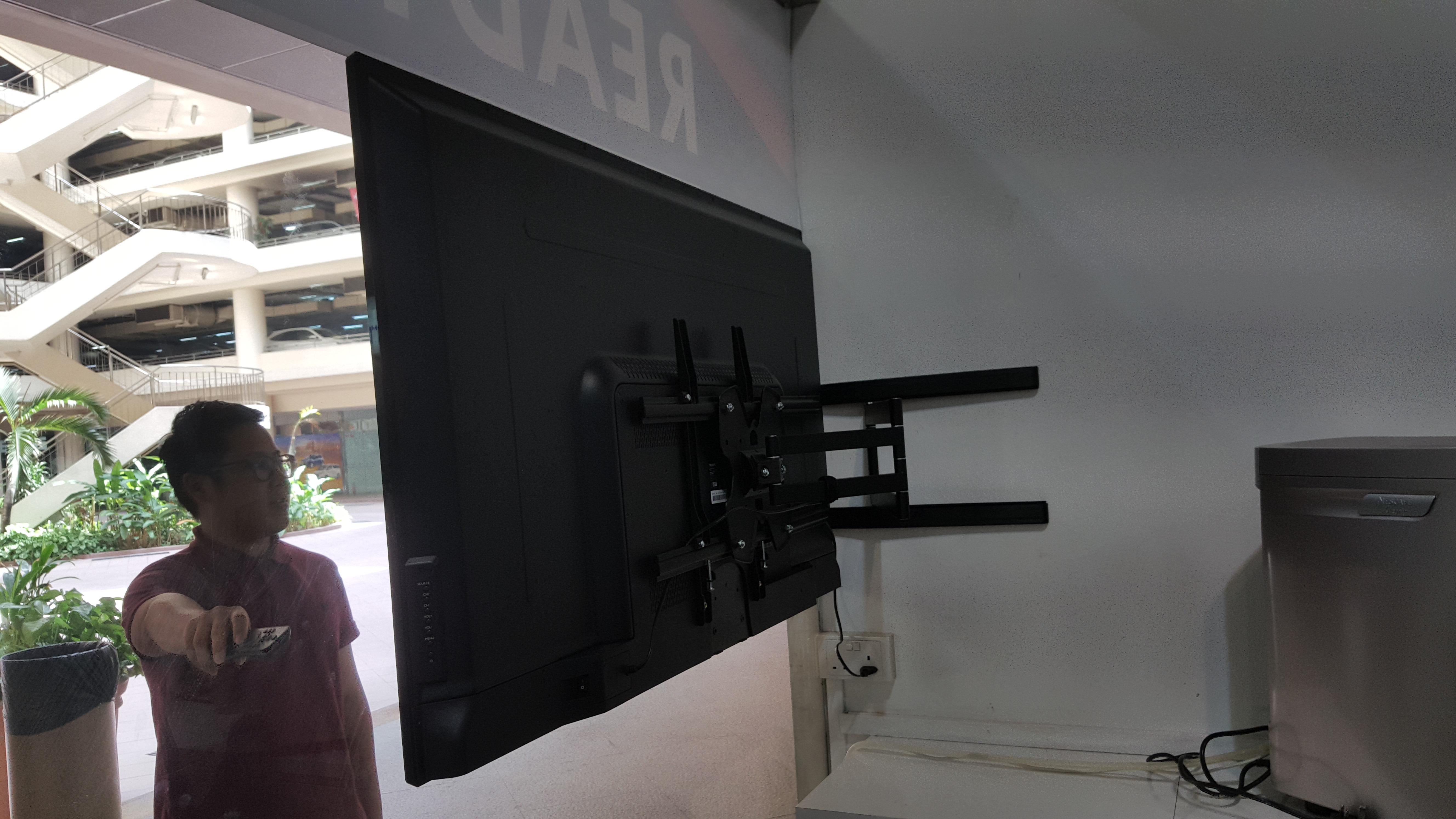 camera chris foot share ceiling slider mounted diy img the tv ceilings duke