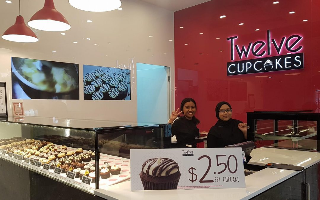 Project @ Twelve Cupcakes (Northpoint city)