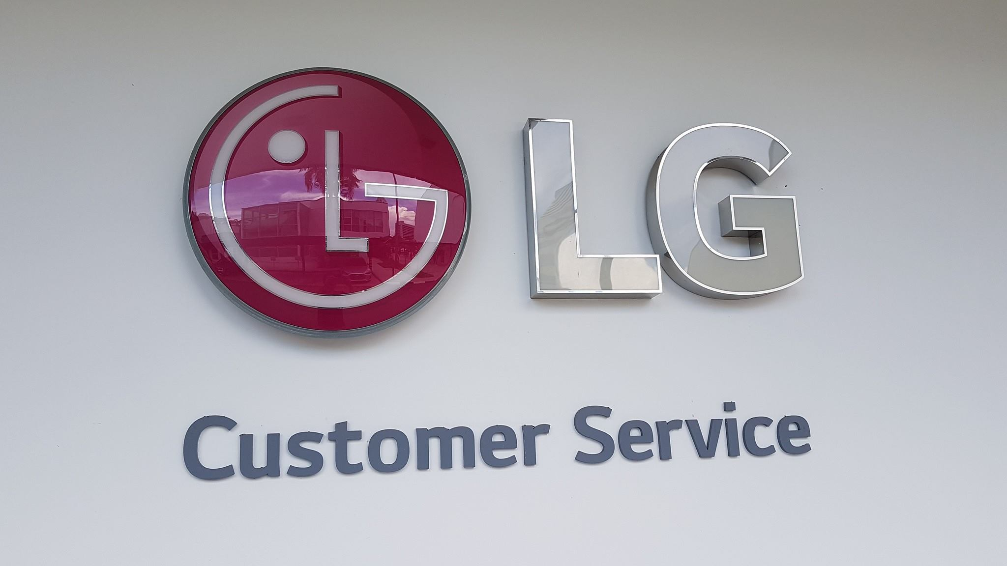 Project @ LG Service Centre - TV Bracket and Mount | Singapore