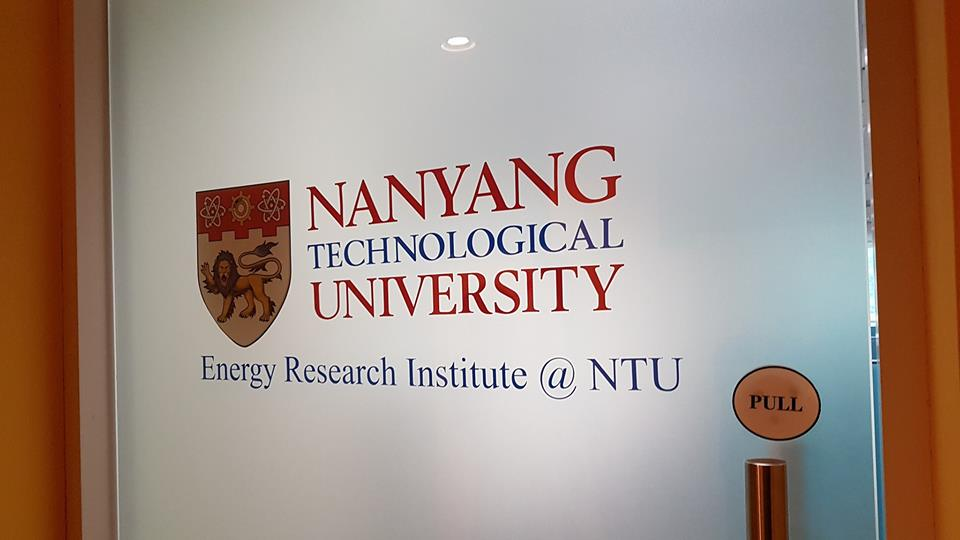 Project @ NTU (Energy Research Institute)
