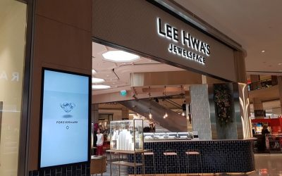 Project @ Lee Hwa's Jewelspace (Suntec)