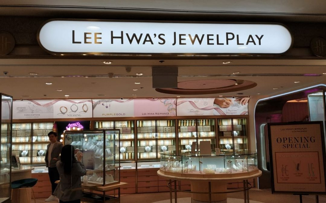 Project @ Lee Hwa Jewellery (Bugis Junction)